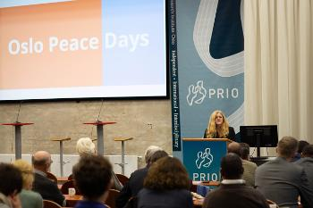 Hilde Frafjord Johnson speaks at this PRIO event about Ethiopia as a regional peacemaker.